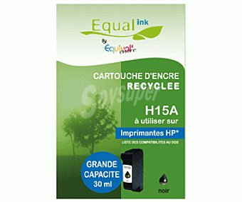 Equalink Cartuchos Reciclados de Tinta H15 Negro 1u