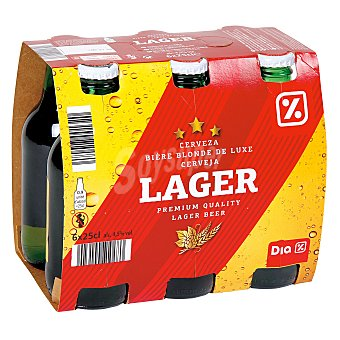 DIA Cerveza Pack 6 botellas x 25 cl