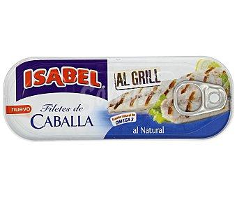 Isabel Filete de caballa al natural grill Lata 85 g (neto escurrido)