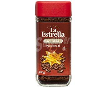 La Estrella Café soluble descafeinado Paquete 200 g
