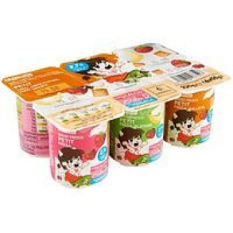 Eroski Petit fruit mix Pack 6x55 g
