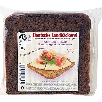 DEUTSCHE LANDBÄCKEREI Schinken Brot pan integral de centeno paquete 300 g Paquete 300 g