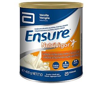 ENSURE Complemento alimenticio con sabor a vainilla Nutrivigor de 400 gramos