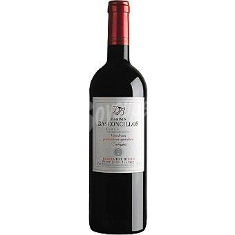 DOMINIO BASCONCILLOS Vino tinto roble ecológico D.O. Ribera del Duero botella 75 cl 75 cl