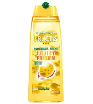 Fructis Garnier Champú fortificante Fruity Passion para cabello normal 300 ml