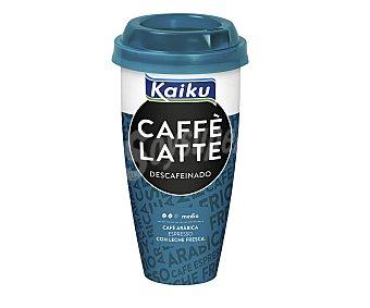 Kaiku Bebida láctea pasteurizada de café descafeinado con leche 230 mililitros