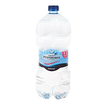 Fuente Primavera Agua mineral Botella 1,5 litros