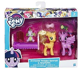 MY LITTLE PONY Amistad Pack de amistad con 2 mini ponis y accesorios pony