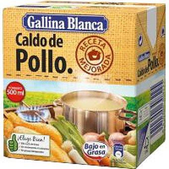 Gallina Blanca Caldo casero de pollo Brik 523 ml