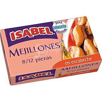 Isabel Mejillón escabeche 8/12 piezas Lata de 69 g