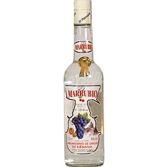 EL MARRUBIO Aguardiente de orujo de Liébana Botella 70 cl
