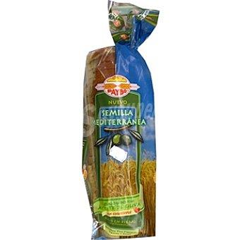 Paybo pan de molde semilla mediterránea Bolsa 560 g
