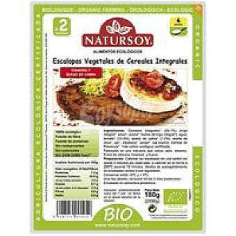 Natursoy Escalope con vegetales-cereales-tomate Paquete 180 g