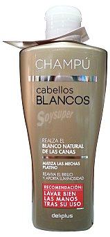 Deliplus Champu cabello blanco Botella 200 cc