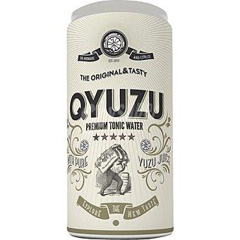 QYUZU Tónica premium con zumo cítrico Lata 20 cl