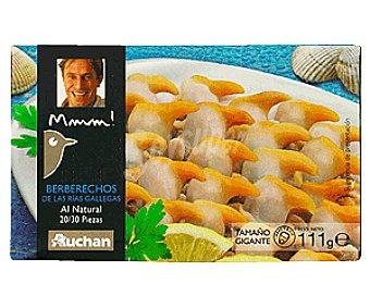Mmm Auchan Berberechos al Natural 20/30 Piezas 63g