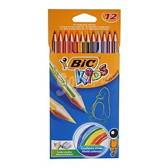 Bic Lápices tricolor 12 unidades