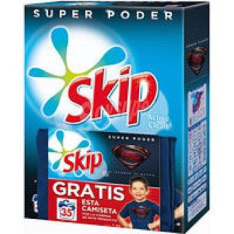 SKIP Detergente polvo azul 35 dosis