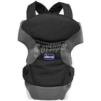 CHICCO Marsupio Go mochila portabebé en color negro +0 meses