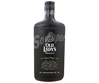 OLD LADY´S Ginebra premium de gran bretaña tipo London dry gin Botella de 70 centilitros