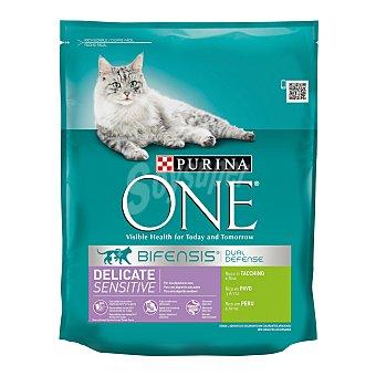 AFFINITY ULTIMA JUNIOR Rico en pollo y arroz para gatos de 1 a 12 meses  Bolsa 800 g