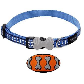 Red Dingo Para perro reflectante color naranja talla S largo 20-32 cm ancho 12 mm 1 unidad