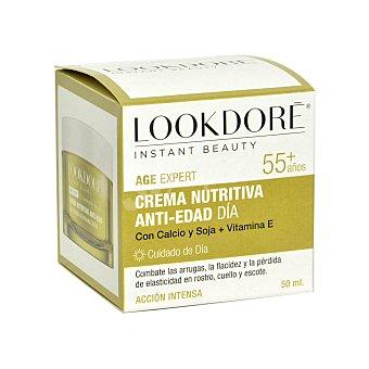Lookdoré Crema nutritiva anti-edad día +55 años 50 ml