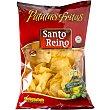 Patatas fritas sin sal Bolsa 250 g Santo Reino