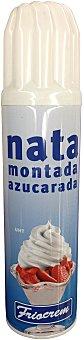 FRIOCREM Trufa montada azucarada spray Bote de 250 g