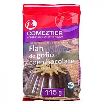 Comeztier Preparado para flan de gofio con cacao 115 G 115 g