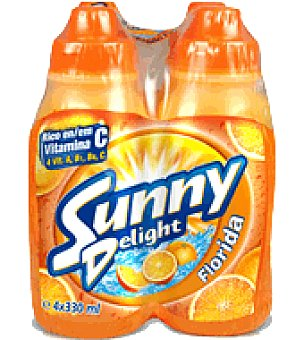 "Sunny Delight Refresco ""florida"" Pack de 4 botellas de 330 ml"