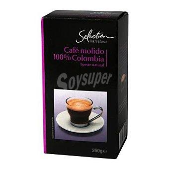 Carrefour Selección Café molido tueste natural 100% Colombia 250 g