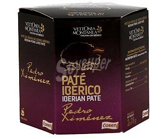 COREN Paté ibérico al Pedro Ximénez 2 unidades de 78 g
