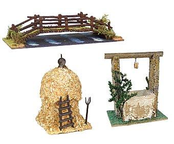 DESPUBLICADAS POR ADMIN Contrucciones de corcho de 10 centímetros (pajar, pozo o puente) OLIVER.