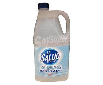 La Salud Agua destilada o desionizada, 2 litros salud