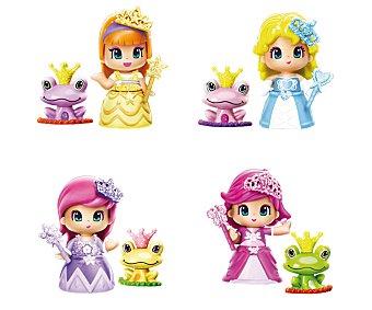 PIN Y PON Surtido de figuras con mascota y accesorios de Princesa 1 Unidad