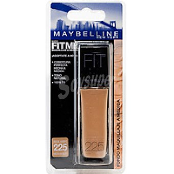Maybelline New York Fondo de maquillaje Fit Me 225 Pack 1 unid