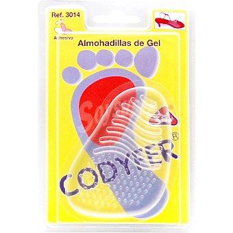 CODYFER Plantilla gel antideslizante especial sandalias 1 unidad