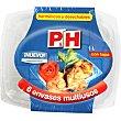 Recipiente multiusos con tapa hermetico y desechable envase 6 unidades 1 l P & H
