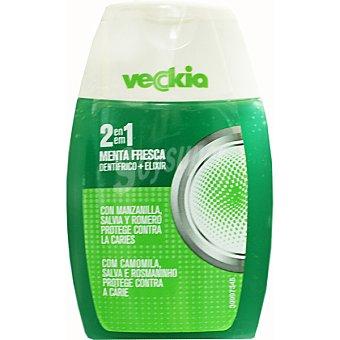 Veckia Dentífrico con elixir menta fresca con manzanilla salvia y romero Bote 100 ml