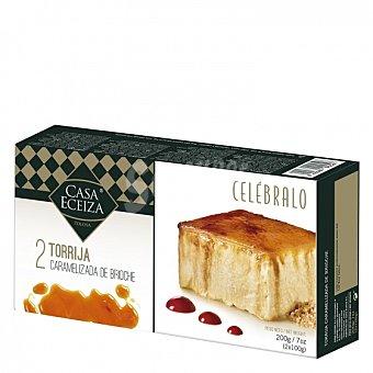 Casa Eceiza Tarta helada de torrija caramelizada Pack de 2 unidades de 100 g