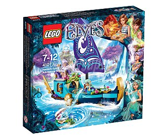 LEGO Juego de construcciones La gran aventura en barco de Naida, la elfa del agua de la serie Elves, modelo 41073 1 unidad