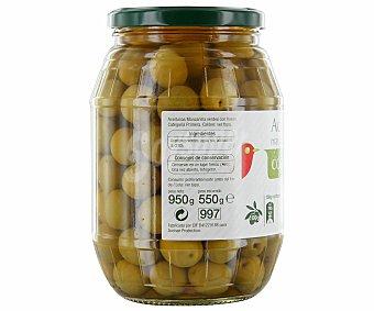 Auchan Aceituna con hueso Tarro de 550 gramos