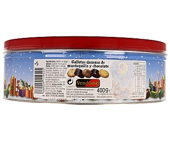 Vendome Galletas Danesas Chocolate 400 Gramos