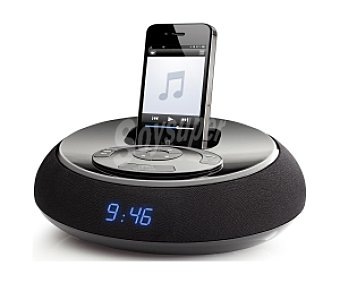 ENERGY DOCKING 100 Altavoz despertador Para ipod/iphone con radio FM y line-in