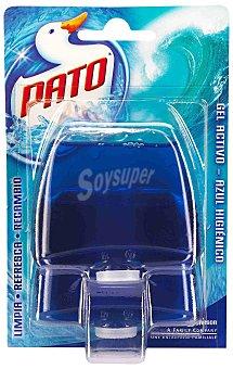 Pato Desinfectante WC gel triple acción azul higiénico recambio 2 unidades