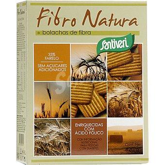 SANTIVERI Fibronatura Galletas de fibra sin azúcar Paquete 420 g