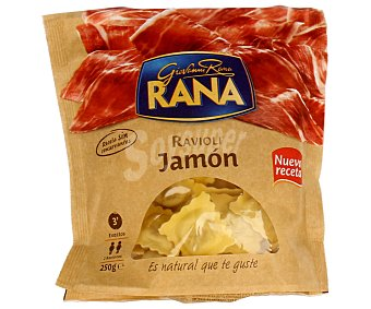 Rana Raviolis (pasta fresca) de jamón 250g