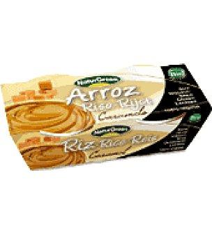 Naturgreen Postre arroz caramelo Pack de 2x125 g.