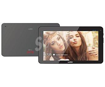 """Wolder amsterdam Tablets con pantalla de 10.1'' WOLDER MiTab AMSTERDAM, procesador: Quad-Core, Ram: 2GB, almacenamiento: 16GB ampliable mediante MicroSD, resolución: 1280 x 800px, cámara frontal y trasera, Android 5.0 10,1"""" WiFi"""